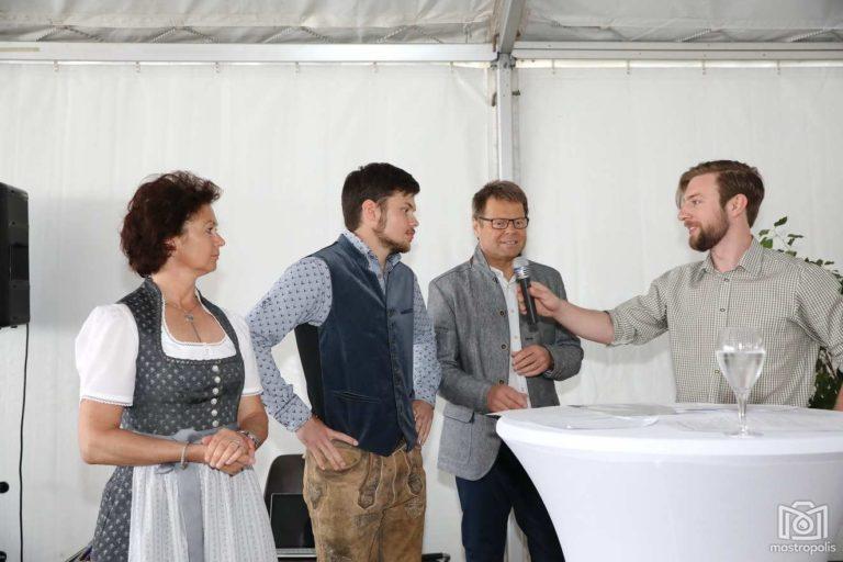 Interview Moderator Roman Hinterberger